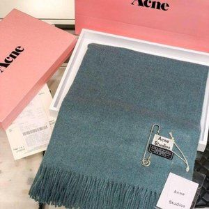 Acne studios Blue wool scarf